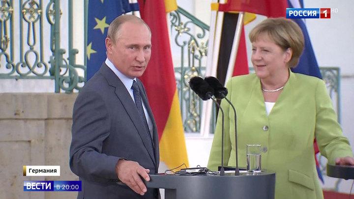 Трехчасовые переговоры: Путин и Меркель обсудили Иран и Украину, Сирию и беженцев