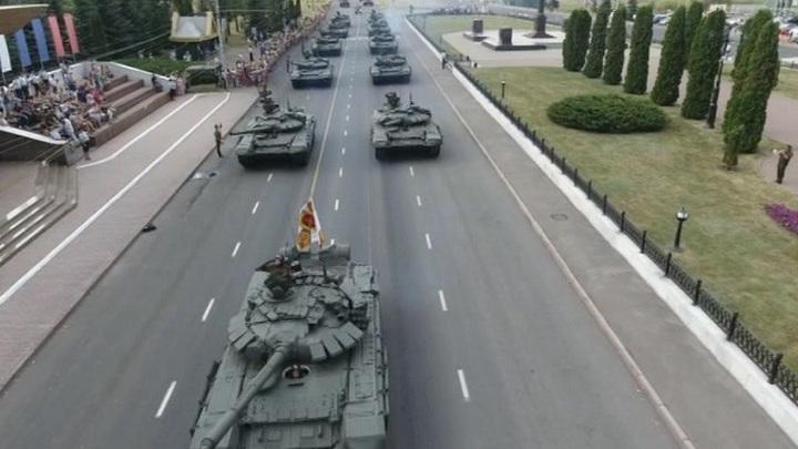 В Курске прошли торжества в честь 75-летия победы в Курской битве