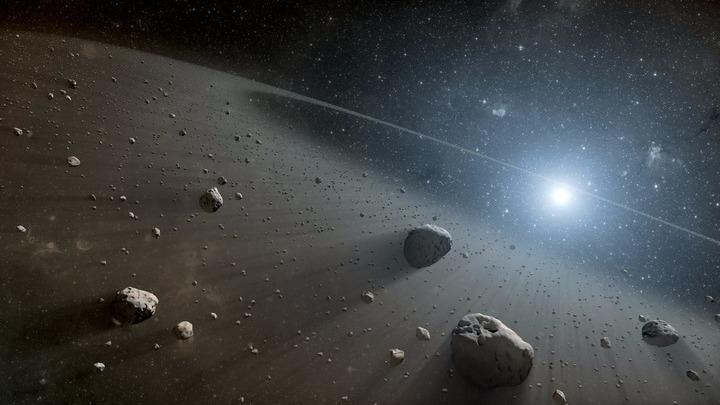 Исследователи разработали технологию изготовления искусственного вещества каменных (хондритовых) астероидов с заданными свойствами.