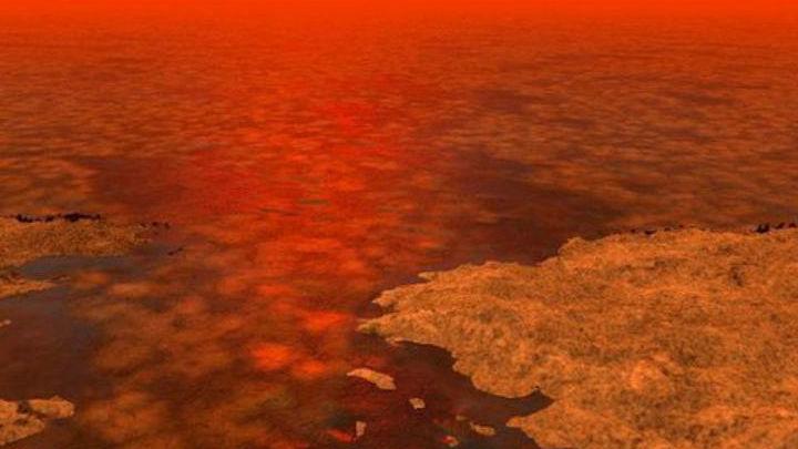 Реки и озёра Титана состоят из жидкого метана и этана