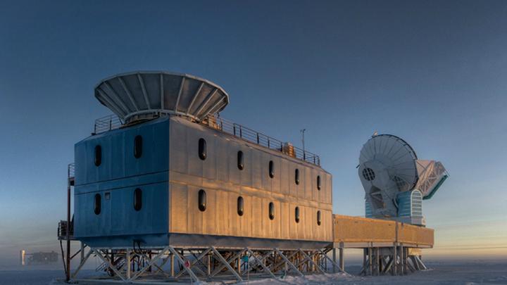 Телескоп BICEP2 на Южном полюсе