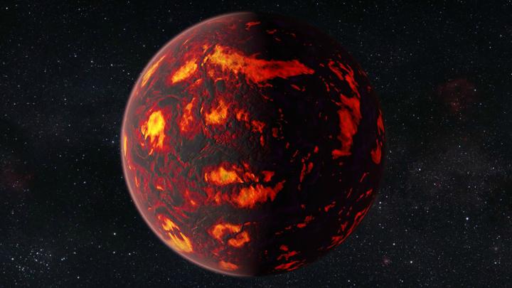 Исследователи полагают, что температура на поверхности 55 Рака е может достигать двух тысяч градусов по Цельсию
