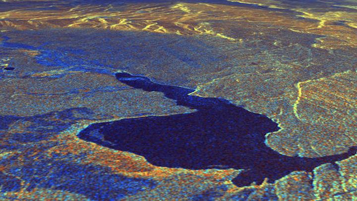 Район Кальдеры Лонг-Велли в восточной Калифорнии, которая была создана 760 тысяч лет назад в ходе суперизвержения.