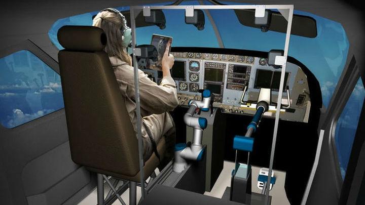 Человек по-прежнему следит за управлением самолётом, однако весь функционал осуществляет автоматизированная система √ вплоть до взлёта и посадки.