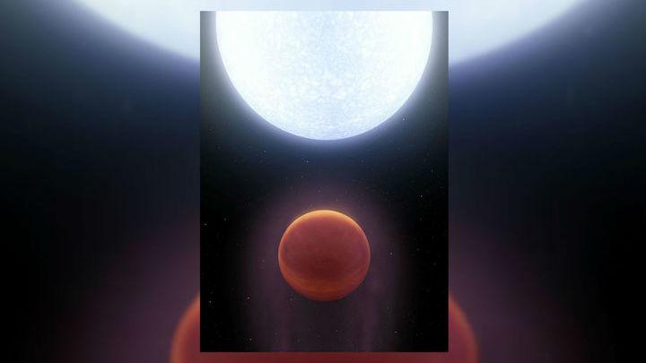 Астрономы обнаружили планету, которая раскалена до такой степени, что горячее поверхности многих звёзд.