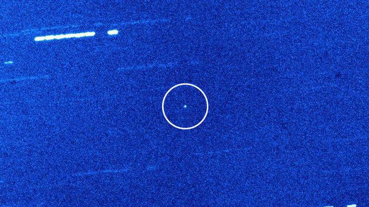 Так выглядит Оумуамуа в телескоп имени Уильяма Гершеля.