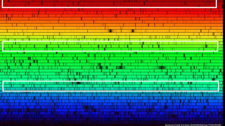 Спектры анализирует специально созданная и обученная нейронная сеть.