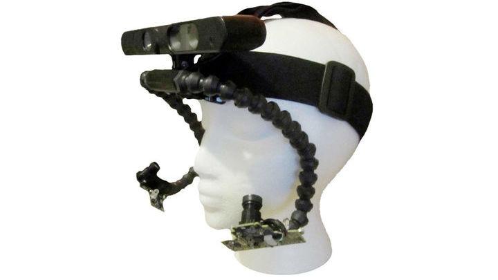 Последнюю версию устройства можно носить словно защитные лыжные очки.