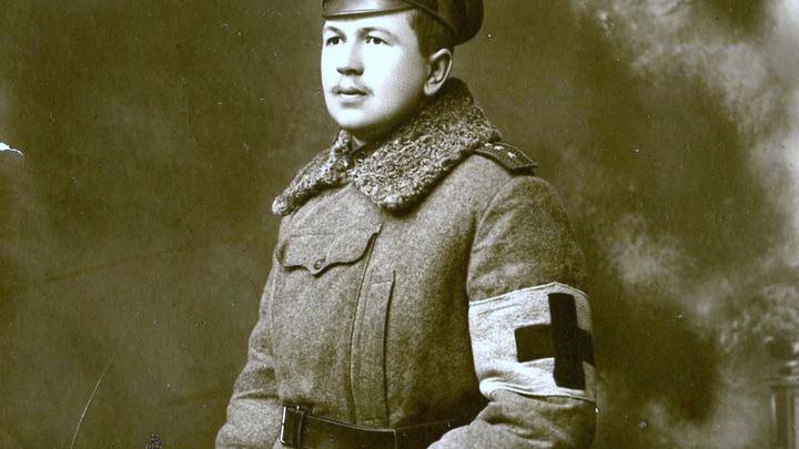 Н.М.Котляревский,1915, IV армия. Из личного архива графини М.Апраксиной