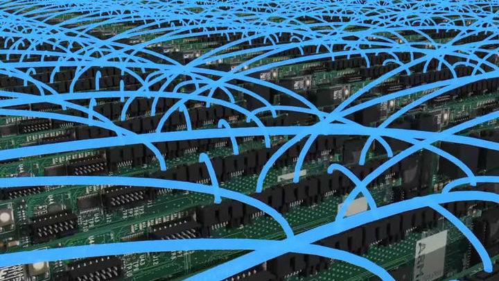 Архитектура компьютера до некоторой степени имитирует устройство мозга.