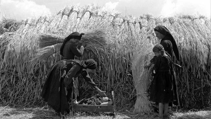 """""""Сцена сбора урожая в Эпире"""". 1930 год"""