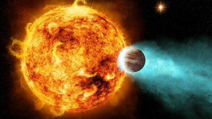 До недавнего открытия утечка атмосфер с экзопланет наблюдалась в основном благодаря водороду.