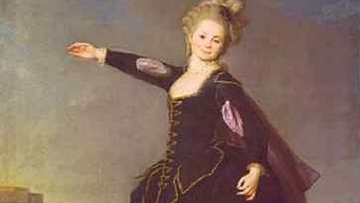 Портрет смолянки Натальи Борщёвой (художник Левицкий)