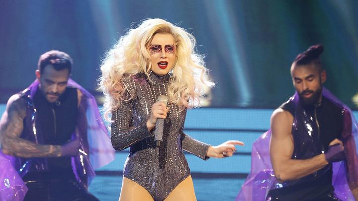 """Один в один. Народный сезон. Вероника Мохирева. Леди Гага """"Born this way"""""""