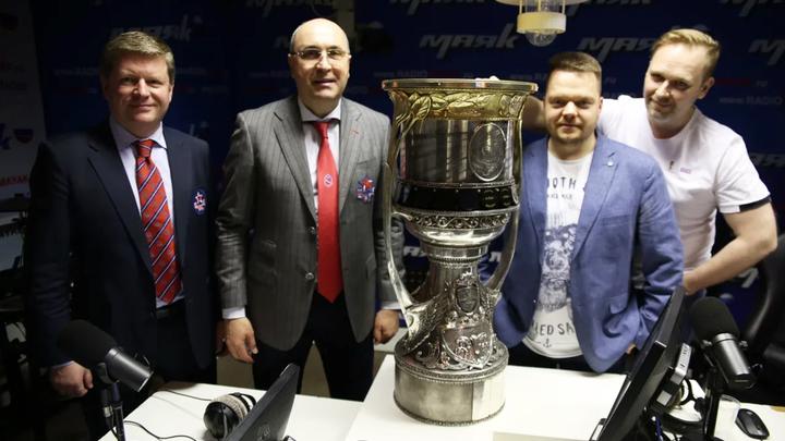 Кубок Гагарина в студии