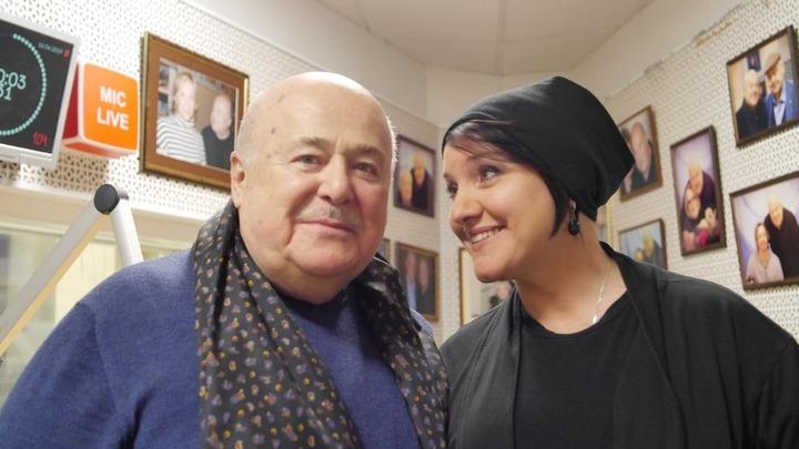 Александр Калягин и Инга Оболдина /фото Анастасии Кузнецовой/