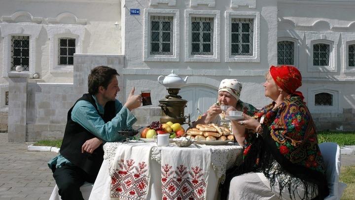 У Лажечниковых...в Коломне!  Фото Леонида Варебруса