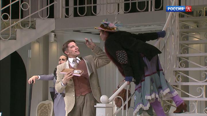 """Театр Табакова готовится к премьере спектакля """"Моя прекрасная леди"""""""