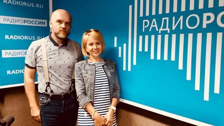Дмитрий Конаныхин и  Наталия Таньшина.в студии