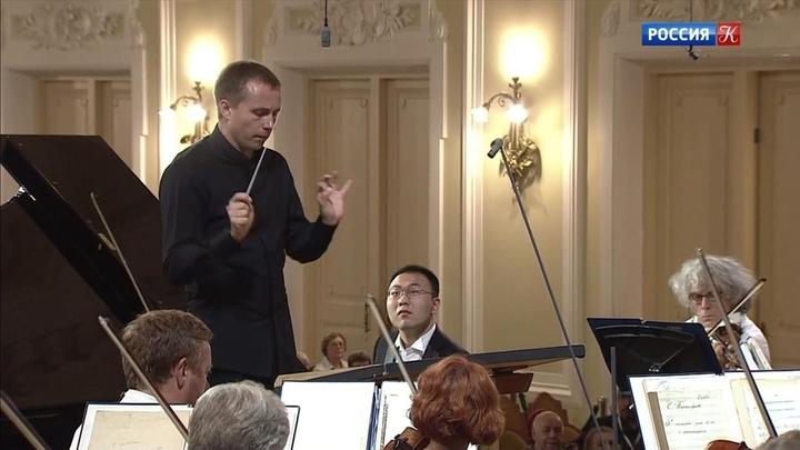 Церемония награждения лауреатов конкурса Чайковского