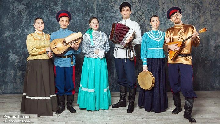 """Казачья справа"" на 40-м фольклорном фестивалe Еврорадио"