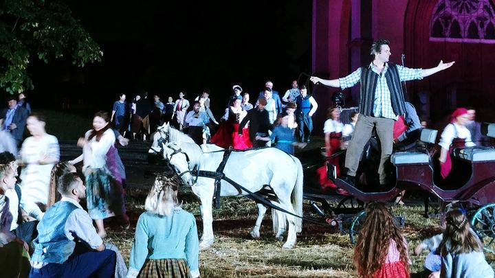 """сцена из оперы """"Сельская честь"""" П. Масканьи /  фото предоставлено оргкомитетом фестиваля"""