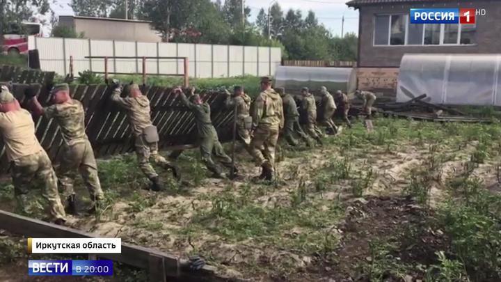 После наводнения в Иркутской области: школы просушивают, учащиеся отдыхают в лагерях