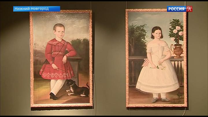 """Выставка """"Сокровища музеев России"""" открылась в Нижнем Новгороде"""