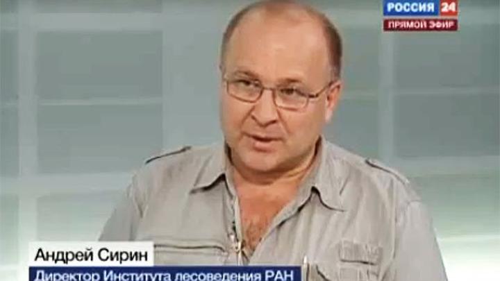 Директор Института лесоведения РАН Андрей Артурович Сирин
