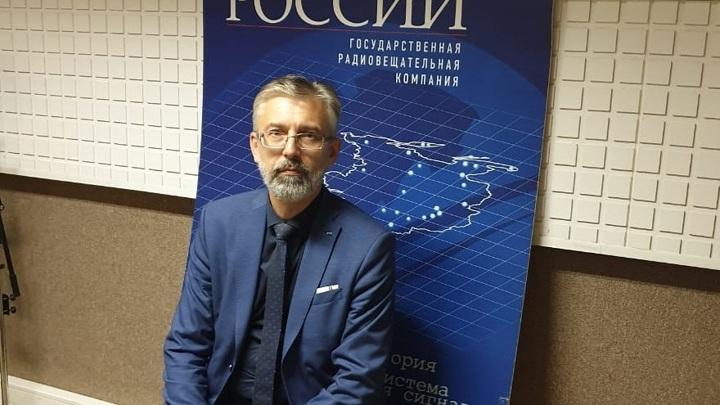 Михаил Анатольевич Ерёмушкин в студии