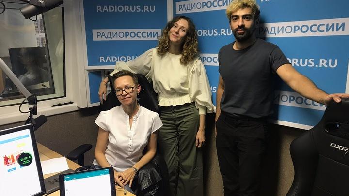 """Гузель Яхина в студии """"Радио России"""""""