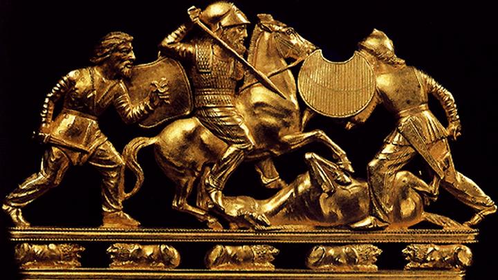 В Крыму вместо скифского золота предложили выставлять необычные таблички