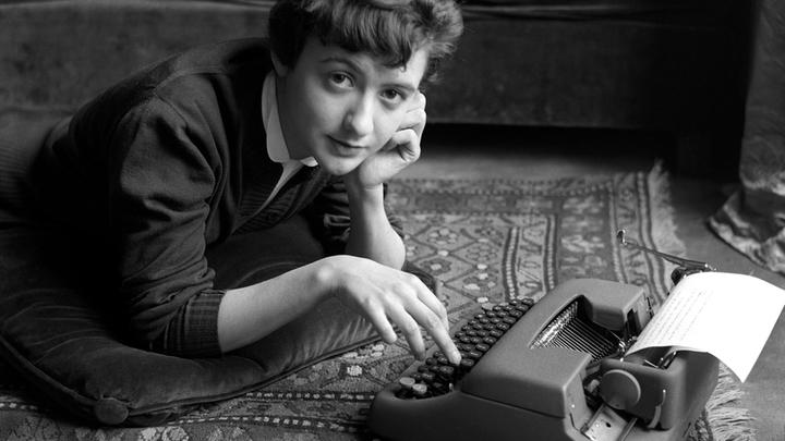 Франсуаза Саган. Париж. 1954 год.
