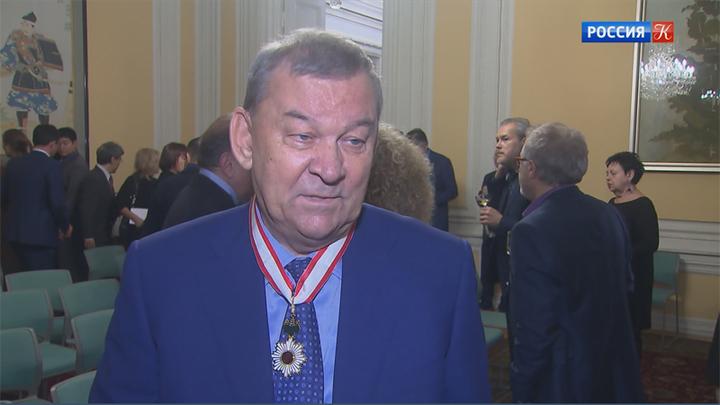 Владимир Урин удостоен японского ордена Восходящего солнца
