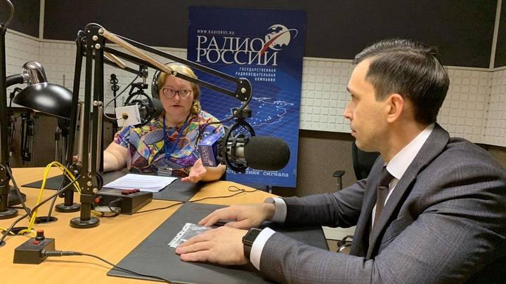 Ольга Копылова и Дмитрий Курдюмов  в студии
