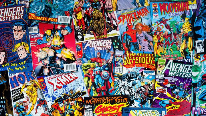 Мир комиксов. Америка