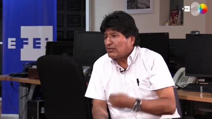 Эво Моралес назвал своего сторонника Луиса Арсе победителем выборов