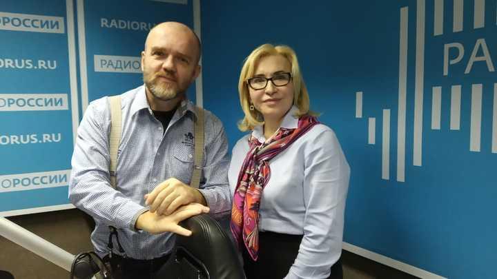"""Татьяна Михайловна Литвинова в студии """"Радио России"""""""