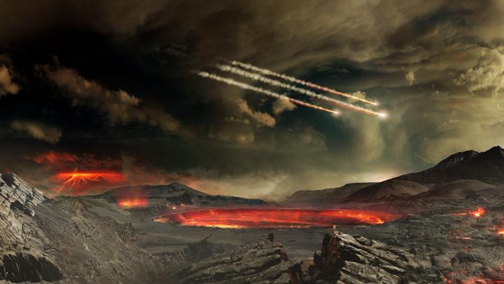 Возможно, важнейшие биомолекулы были занесены на Землю метеоритами.