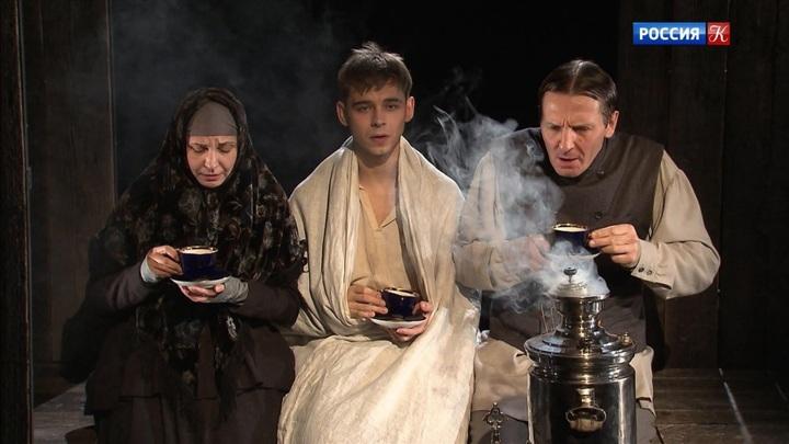 В МХТ имени Чехова показали спектакль «Сахарный немец»