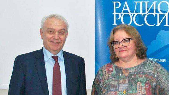 Сергей Бойцов и Ольга Копылова