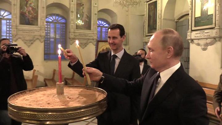 Сложнейшая задача: как спецслужбы готовили визит президента в Сирию