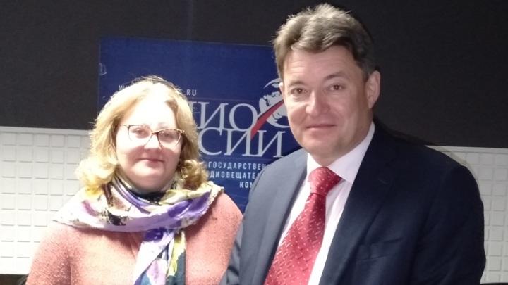 Ольга Копылова и Андрей Каприн