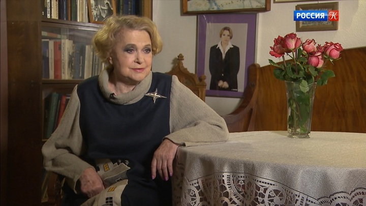 Валентина Талызина отмечает юбилей