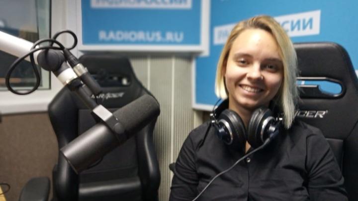 """Анжелика Моисеева в студии """"Радио России"""""""