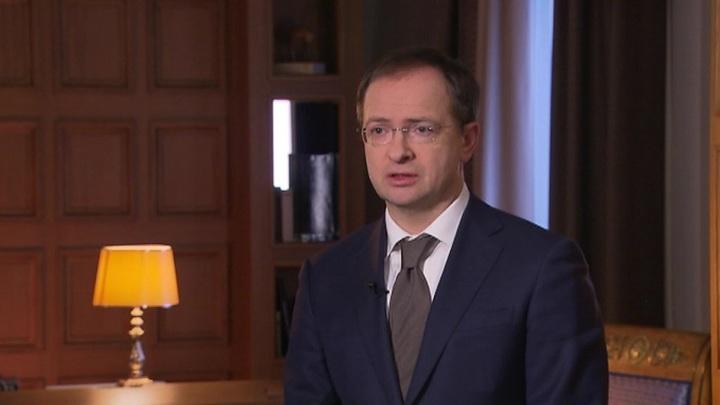 Владимир Мединский станет помощником президента РФ