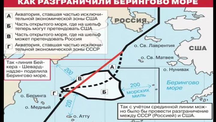Соглашение о линии Шеварднадзе-Бейкера в Беринговом море