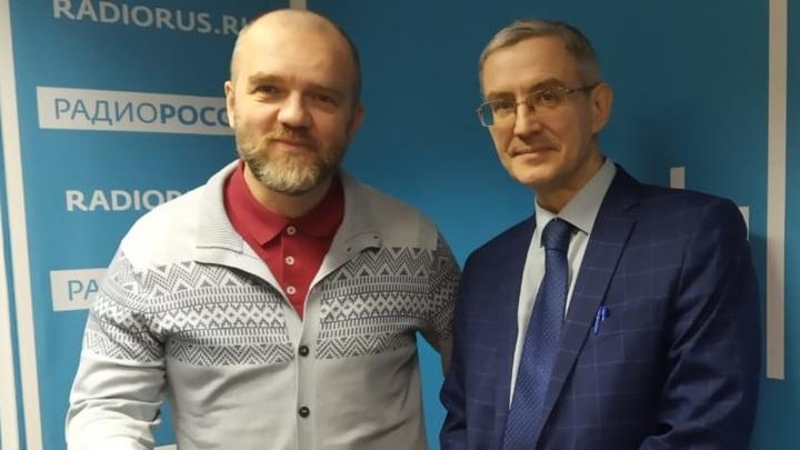 Дмитрий Конаныхин и Юрий Никифоров