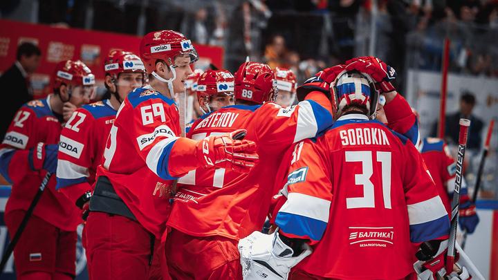 Российские хоккеисты проиграли чехам в последнем матче Евротура