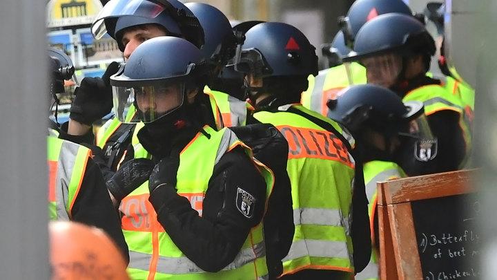 Операция в Берлине: 2 000 полицейских задержали 21 нарушителя из 40